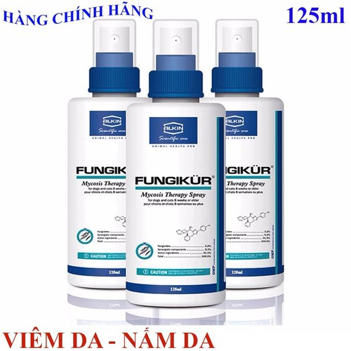 Alkin fungikur 125 ml  -  thuốc phun chữa trị các bệnh ngoài da do ve, nấm -  rụng lông , ngứa nhiều - 20270864 , 22923043 , 15_22923043 , 190000 , Alkin-fungikur-125-ml--thuoc-phun-chua-tri-cac-benh-ngoai-da-do-ve-nam-rung-long-ngua-nhieu-15_22923043 , sendo.vn , Alkin fungikur 125 ml  -  thuốc phun chữa trị các bệnh ngoài da do ve, nấm -  rụng lông