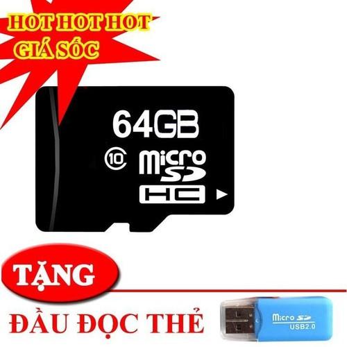 Thẻ nhớ 64gb - thẻ nhớ 64gb dung lượng khủng ,chất lượng sắc nét