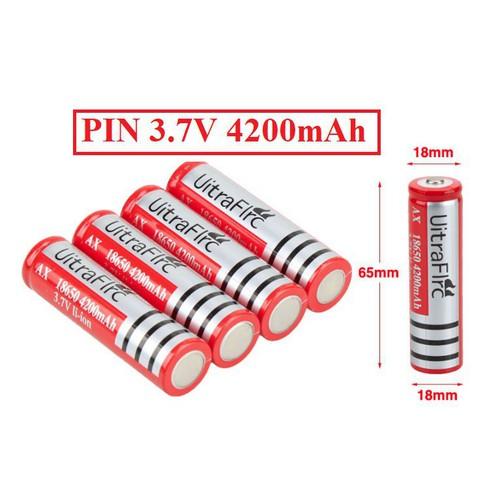 Pin sạc ultrafire 3 7v 4200mah li ion 18650 dùng cho đèn pin quạt mini sạc dự phòng chất lượng nhất ryiyi - 20270532 , 22922321 , 15_22922321 , 50000 , Pin-sac-ultrafire-3-7v-4200mah-li-ion-18650-dung-cho-den-pin-quat-mini-sac-du-phong-chat-luong-nhat-ryiyi-15_22922321 , sendo.vn , Pin sạc ultrafire 3 7v 4200mah li ion 18650 dùng cho đèn pin quạt mini sạc