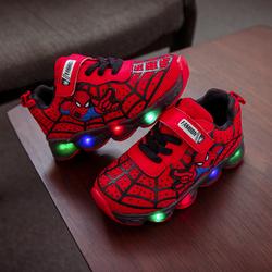 [Hỗ trợ 30k phí vận chuyển]Giày dép cho bé kiểu dáng giày thể thao,giày siêu nhân nhện, giày ánh sáng cho bé 20912