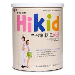 [Tem phụ + tem chống hàng giả] Sữa Hikid tăng chiều cao vị Vani, Socola, Premium 600g - Date 2021