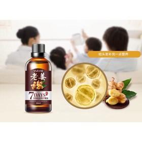 serum gừng trị rụng tóc hói đầu kích thích mọc tóc NHAT BAN - serum gung duong toc