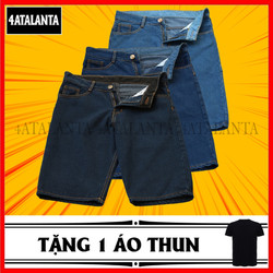 SET 3 Quần short jean nam tặng áo thun màu Đen 4AT - S3SJ1 – 4ATALANTA
