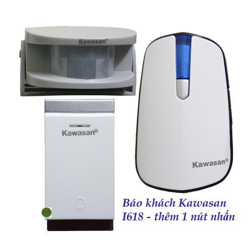 Bộ chuông cảm biến hồng ngoại báo khách kết hợp nút nhấn chống nước kawasan i618 - 20287204 , 22951705 , 15_22951705 , 539000 , Bo-chuong-cam-bien-hong-ngoai-bao-khach-ket-hop-nut-nhan-chong-nuoc-kawasan-i618-15_22951705 , sendo.vn , Bộ chuông cảm biến hồng ngoại báo khách kết hợp nút nhấn chống nước kawasan i618