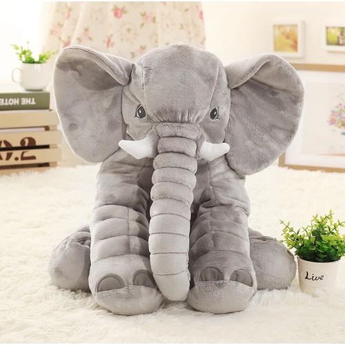 Thú nhồi bông voi xám cực đáng yêu cho bé - 20284992 , 22947547 , 15_22947547 , 220000 , Thu-nhoi-bong-voi-xam-cuc-dang-yeu-cho-be-15_22947547 , sendo.vn , Thú nhồi bông voi xám cực đáng yêu cho bé