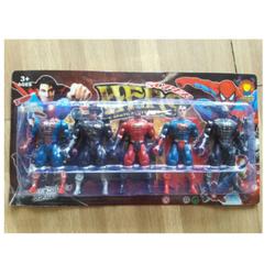 Vỉ đồ chơi siêu nhân loại đẹp
