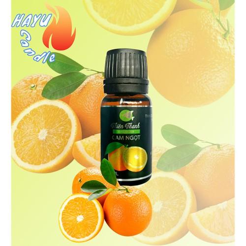 Tinh dầu cam ngọt nguyên chất giúp thư giản tinh thần nến hayu tdcam1