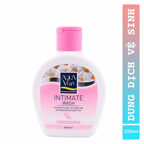 Dung dịch vệ sinh aquavera intimate wash 250ml