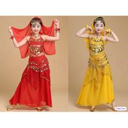 Trang phục múa Ấn độ nổi bật cho bé yêu