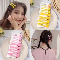 Kẹp tóc set 7c phong cách Hàn Quốc