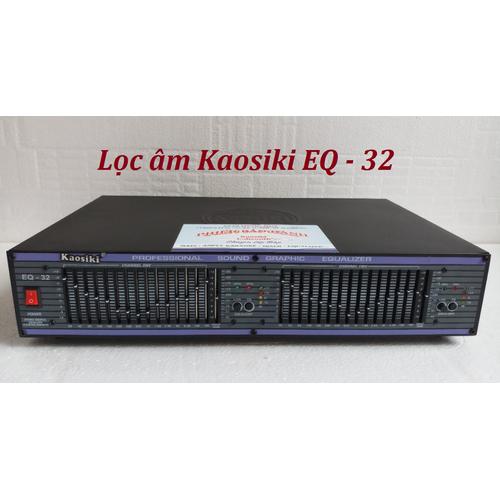 Lọc xì equalizer kaosiki q32 - eqk32