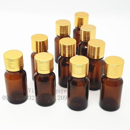 Combo 50 lọ chai đựng tinh dầu nhỏ giọt 10ml, lọ chai đựng tinh dầu thân thủy tinh nâu nắp nhôm vàng - 20293909 , 22967084 , 15_22967084 , 250000 , Combo-50-lo-chai-dung-tinh-dau-nho-giot-10ml-lo-chai-dung-tinh-dau-than-thuy-tinh-nau-nap-nhom-vang-15_22967084 , sendo.vn , Combo 50 lọ chai đựng tinh dầu nhỏ giọt 10ml, lọ chai đựng tinh dầu thân thủy ti