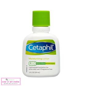Kem dưỡng ẩm dịu nhẹ cho mọi loại da kể cả da nhạy cảm Cetaphil Moisturizing Lotion 59ml - CETAPHIL-1