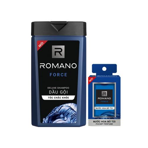 Combo dầu romano force 380gr & nước hoa bỏ túi force 18ml