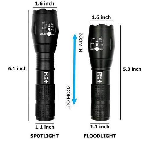 Cực shock đèn pin siêu sáng cao cấp t6 hợp kim chống nước pin có thể sạc lại loại tốt có rôn phía sau - 20531798 , 23399563 , 15_23399563 , 118500 , Cuc-shock-den-pin-sieu-sang-cao-cap-t6-hop-kim-chong-nuoc-pin-co-the-sac-lai-loai-tot-co-ron-phia-sau-15_23399563 , sendo.vn , Cực shock đèn pin siêu sáng cao cấp t6 hợp kim chống nước pin có thể sạc lại l