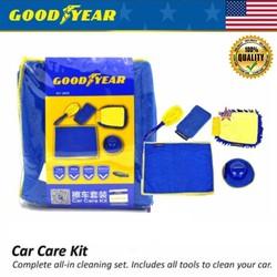 Bộ combo 5 món dụng cụ chăm sóc vệ sinh cọ rửa xe hơi, ô Tô - GY-2878