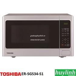 Lò vi sóng điện tử có nướng Toshiba ER-SGS34-S1-VN - 34 lít - Thái Lan