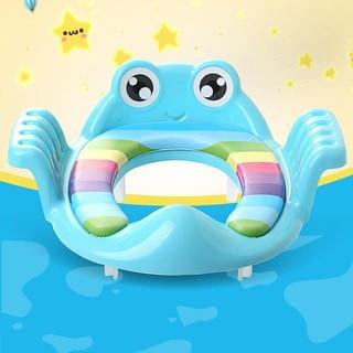 Nắp thu nhỏ bồn cầu - nắp thu nhỏ bồn cầu cho bé hình con ếch - Nắp thu nhỏ bồn cầu thumbnail
