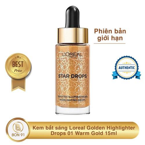 Kem bắt sáng loreal golden highlighter drops 01 warm gold 15ml phiên bản giới hạn - 18210265 , 22967888 , 15_22967888 , 179000 , Kem-bat-sang-loreal-golden-highlighter-drops-01-warm-gold-15ml-phien-ban-gioi-han-15_22967888 , sendo.vn , Kem bắt sáng loreal golden highlighter drops 01 warm gold 15ml phiên bản giới hạn