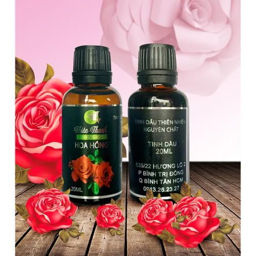 Tinh dầu hoa hồng thiên thanh nguyên chất 20ml