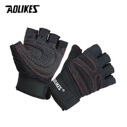 Bộ đôi găng tay tập GYM có cuốn cổ tay Aolikes - Găng tay tập gym - Găng tay tập gym aolikes - Găng tay tập gym cao cấp- Găng tay tập gym nam - Găng tay tập gym nữ