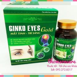 Hoạt huyết dưỡng não Ginkgo Eye Gold hỗ trợ tăng tuần hoàn máu   cải thiện trí nhớ - thị lực