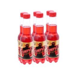 6 chai nước tăng lực Compact vị cherry 330ml