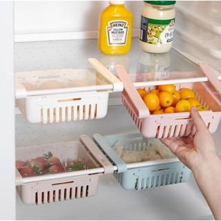 Khay Rổ Nhựa Kéo Dài Đựng Thức Ăn Thực Phẩm Trong Tủ Lạnh - Khay Rổ Nhựa thumbnail