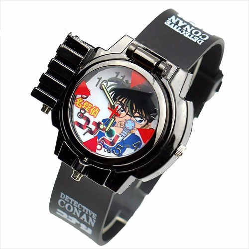 Đồng hồ trẻ em conan đeo tay bắn laser - 20351413 , 23076322 , 15_23076322 , 117000 , Dong-ho-tre-em-conan-deo-tay-ban-laser-15_23076322 , sendo.vn , Đồng hồ trẻ em conan đeo tay bắn laser