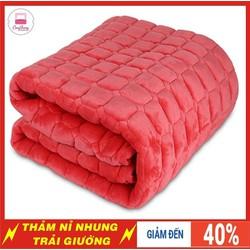 Thảm lông cừu trải giường siêu mềm mịn l Thảm Họa Tiết 2