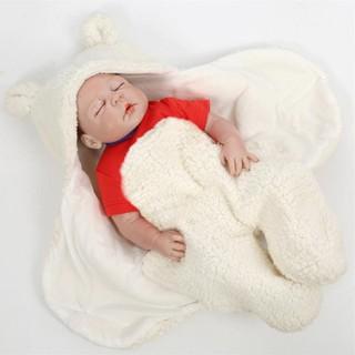 Áo ủ lông giữ ấm- Áo lông quấn người cho trẻ sơ sinh - Áo ủ lông giữ ấm 1 2