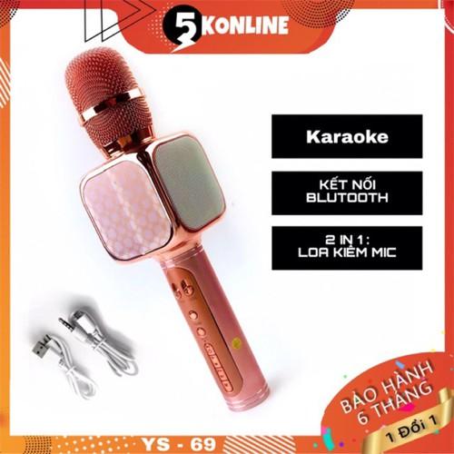 Micro karaoke không dây kèm loa bluetooth ys69 đa năng điều chỉnh được giọng nói âm thanh hay cắm usb thẻ nhớ 3 5 - 20306072 , 22991733 , 15_22991733 , 253000 , Micro-karaoke-khong-day-kem-loa-bluetooth-ys69-da-nang-dieu-chinh-duoc-giong-noi-am-thanh-hay-cam-usb-the-nho-3-5-15_22991733 , sendo.vn , Micro karaoke không dây kèm loa bluetooth ys69 đa năng điều chỉnh