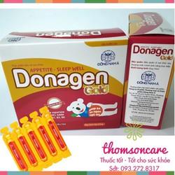 Donagen Gold Siro hỗ trợ hệ tiêu hóa | giúp trẻ ăn ngon - ngủ tốt