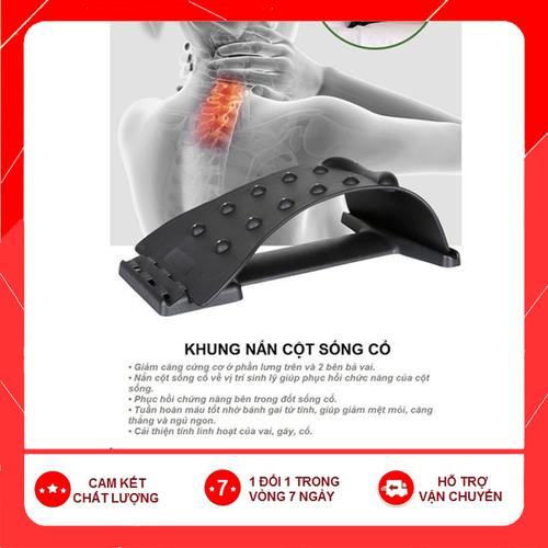 [Hàng nhập khẩu] khung nắn chỉnh cột sống cổ chẩn diện từ- khung nắn và kéo giãn cột sống cổ - chỉnh cột sống cổ