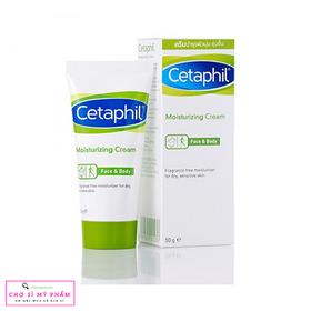 Kem dưỡng ẩm, làm mềm dùng cho mặt và toàn thân Cetaphil Moistunrizing Cream 50g - CETAPHIL-5