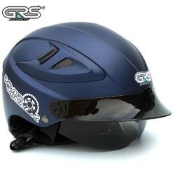 Mũ bảo hiểm giấu kính chính hãng GRS A966 nhiều màu - kính giấu được vào trong, chống nắng, chống tia uv, lót mũ tháo giặt dễ dàng