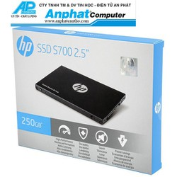 Ổ cứng SSD HP S700 250GB Sata3 2.5 bảo hành 36 tháng Chính Hãng - SSD_HP_S700_250GB