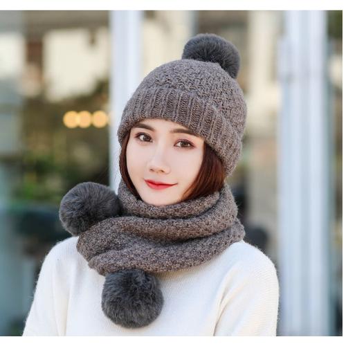 Mũ len kèm khăn phong cách hàn, bộ mũ len kèm khăn cao cấp, nón len nữ - 19370704 , 23015027 , 15_23015027 , 265000 , Mu-len-kem-khan-phong-cach-han-bo-mu-len-kem-khan-cao-cap-non-len-nu-15_23015027 , sendo.vn , Mũ len kèm khăn phong cách hàn, bộ mũ len kèm khăn cao cấp, nón len nữ
