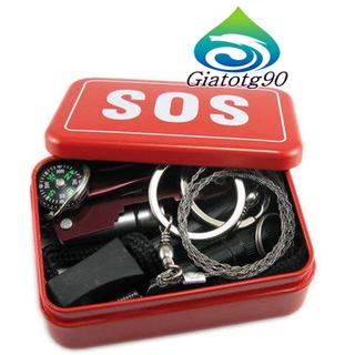 Bộ dụng cụ đa năng đi dã ngoại, thám hiểm tiện ích 206603 - 206603-2 thumbnail