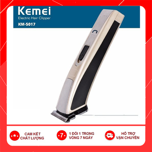 [Bảo hành 12 tháng] tông đơ hớt tóc gia đình kemei 5017 - tông đơ 5017 hàng loại 1