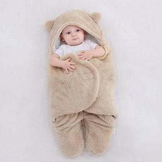 Áo ủ lông cho bé - Túi ngủ cao cấp , Chăn quần dạng khăn ủ kén quấn nhộng lông cừu cho trẻ sơ sinh đến 6 tháng tuổi - Áo ủ lông cho bé thumbnail