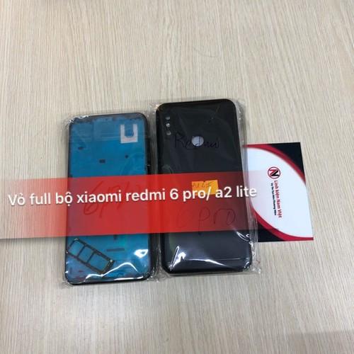 Vỏ sườn + khung màn hình điện thoại xiaomi redmi 6 pro - xiaomi mi a2 lite zin . - 20313707 , 23004560 , 15_23004560 , 200000 , Vo-suon-khung-man-hinh-dien-thoai-xiaomi-redmi-6-pro-xiaomi-mi-a2-lite-zin-.-15_23004560 , sendo.vn , Vỏ sườn + khung màn hình điện thoại xiaomi redmi 6 pro - xiaomi mi a2 lite zin .