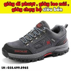 Giày Sneaker Thể Thao Nam Thời Trang Cao Cấp