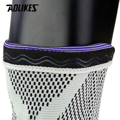 Bó gối silicone co giãn 4 chiều aolikes al7721 - bảo vệ đầu gối thể thao- bảo vệ đầu gối tập gym-bảo vệ đầu gối chạy bộ-bảo vệ đầu gối chính hãng