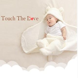 Áo lông cho bé - Áo gấu - Chăn ủ cho bé - Áo khoác lông - PVN138-1 thumbnail