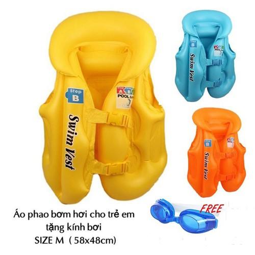 Áo phao bơi trẻ em an toàn tiện lợi dễ sử dụng