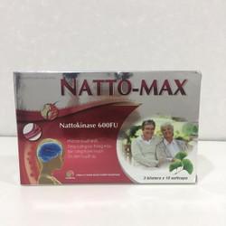 Natto-Max hộp 3 vỉ – Thực phẩm chức năng hỗ trợ não bộ