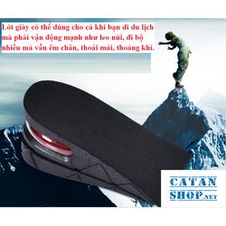 Combo 4 miếng lót đế giày tăng chiều cao Air có đệm khí siêu êm ái, giày đế cao, giày độn gót GD233-LGIAYTCC-Air