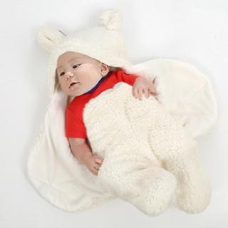 Áo lông ủ ấm cho trẻ sơ sinh-Áo lông ủ ấm cho trẻ sơ sinh - Áo ủ ấm- áo lông thumbnail
