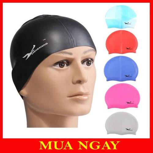 Mũ bơi silicon cao cấp
